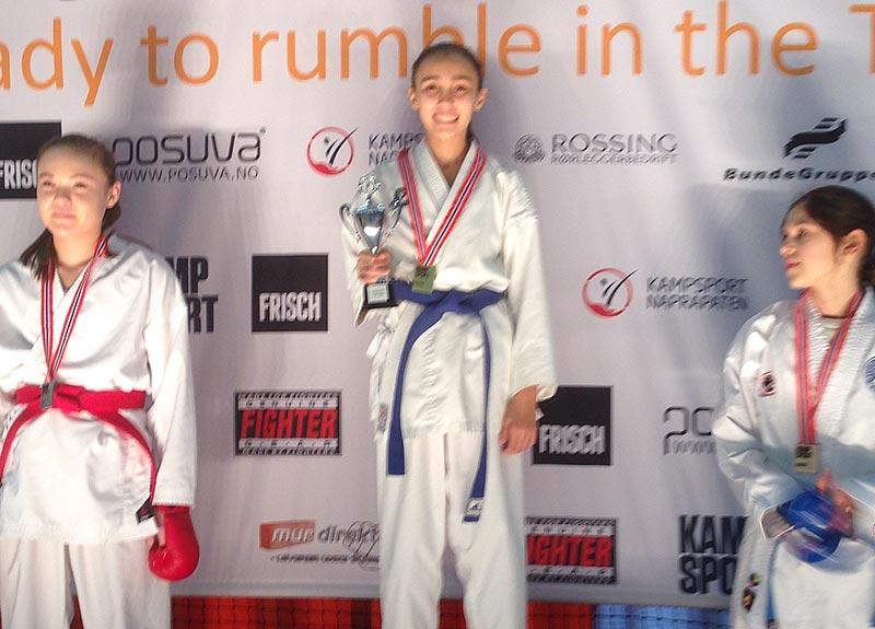Mariam best i både kata og kumite