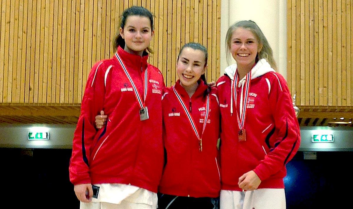 Aileen, Ronja og Eirill