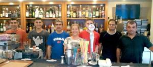 En del av Stavroulakis-familiens restaurantteam