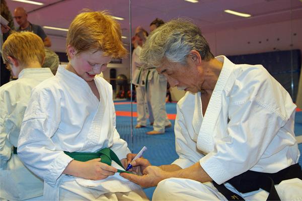karate belter rekkefølge